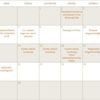 Februári programok